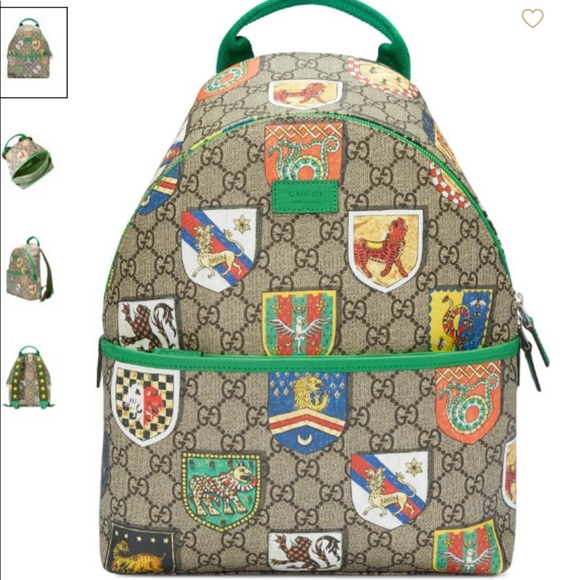 d40016e64 Gucci Bags | Kids Gg Crests Backpack | Poshmark